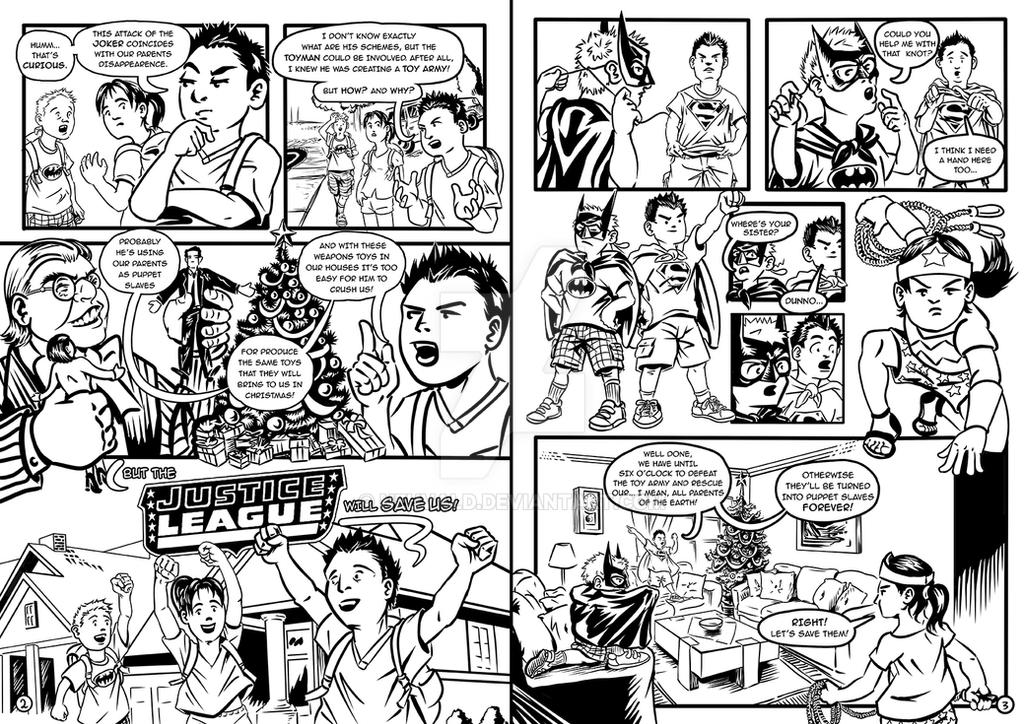 Justice Kids 2 - 3 by neuvald