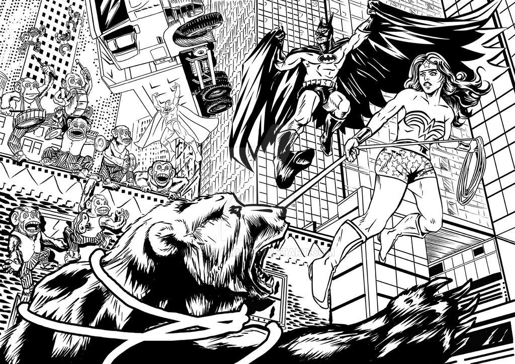 Justice Kids 4 - 5 by neuvald