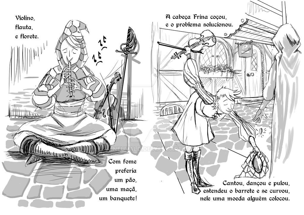 Frina's Tales - Sketch Pg 5-6 by neuvald