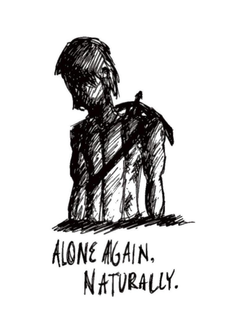 Alone Again, Naturally- Daryl Dixon by umayo