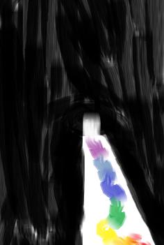 Rainbow Path Thing by ilikecreepystuff2