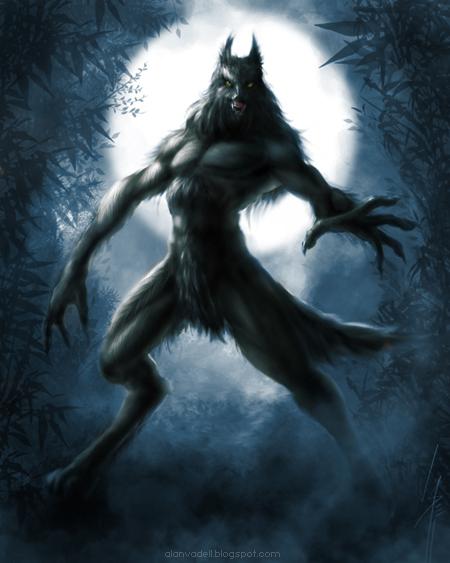 Werewolf by AlanVadell