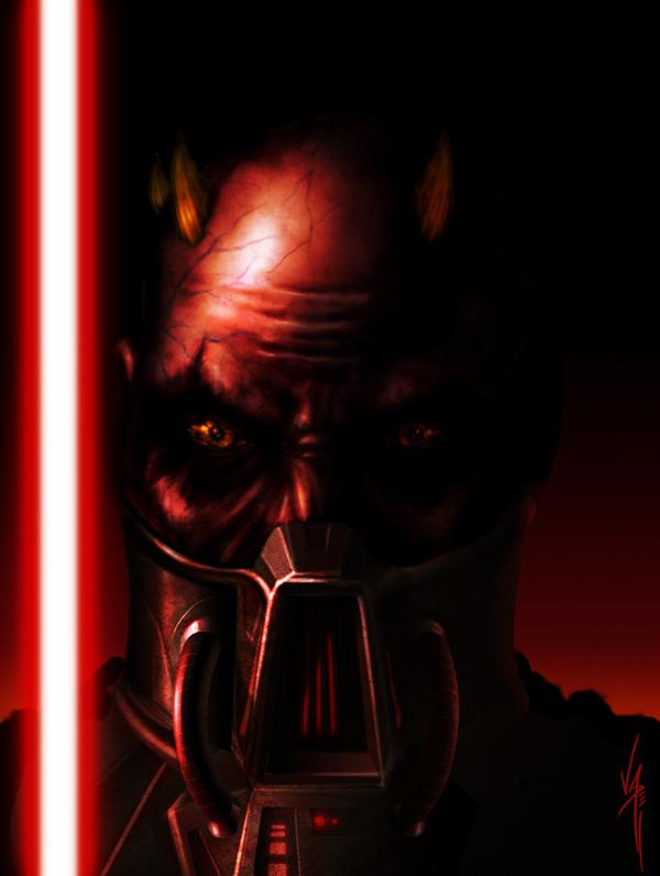 Zabrak Sith by AlanVadell