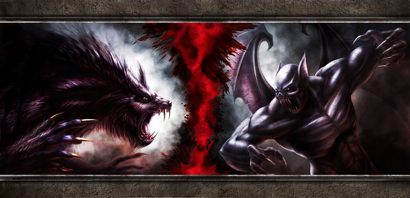 Werewolf vs Vampire - Gods And Monsters