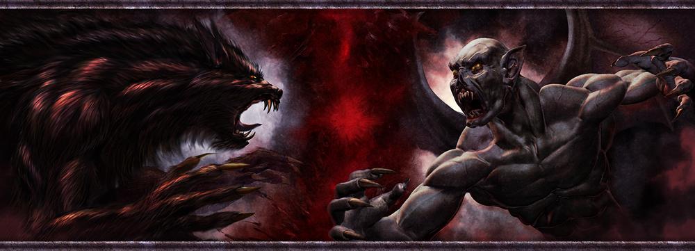 Vampires Vs Werewolves Re-Make by NinjArt1st on DeviantArt