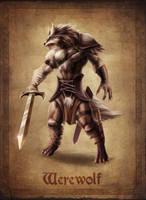 Werewolf Concept by NinjArt1st