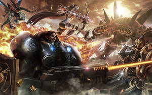Heroes of the Storm: The heat of Battle by NinjArt1st