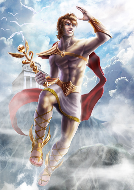 Hermes by AlanVadell on DeviantArt