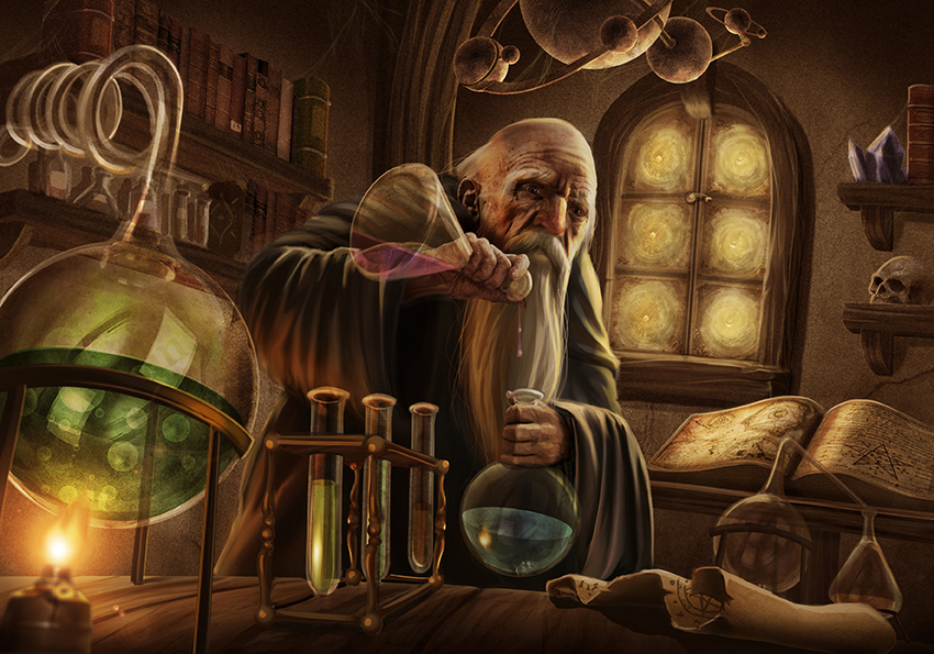 Alchemist by NinjArt1st on DeviantArt