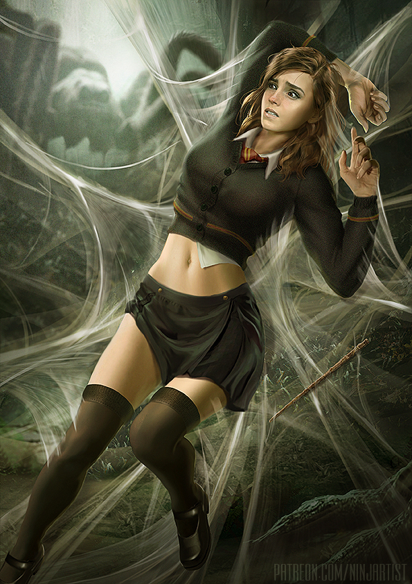 Hermione and Aragog (Part1)
