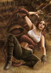 Jyn Erso and The Sarlacc