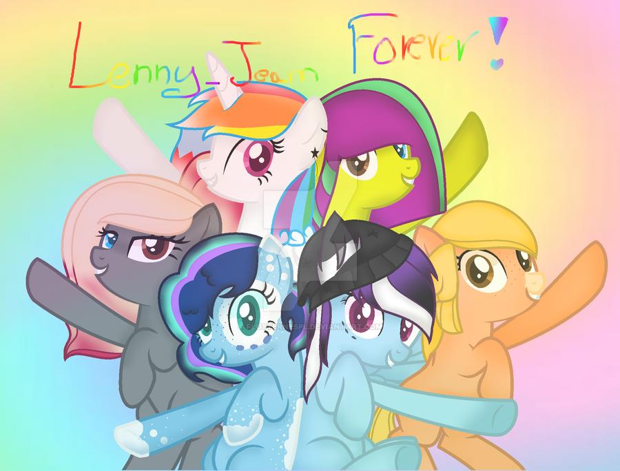 Lenny Team Forever Together by FlutterNesPL