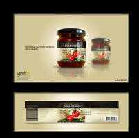 domatesso label design by grafiket