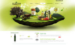 Jupiter WebDesign Interface