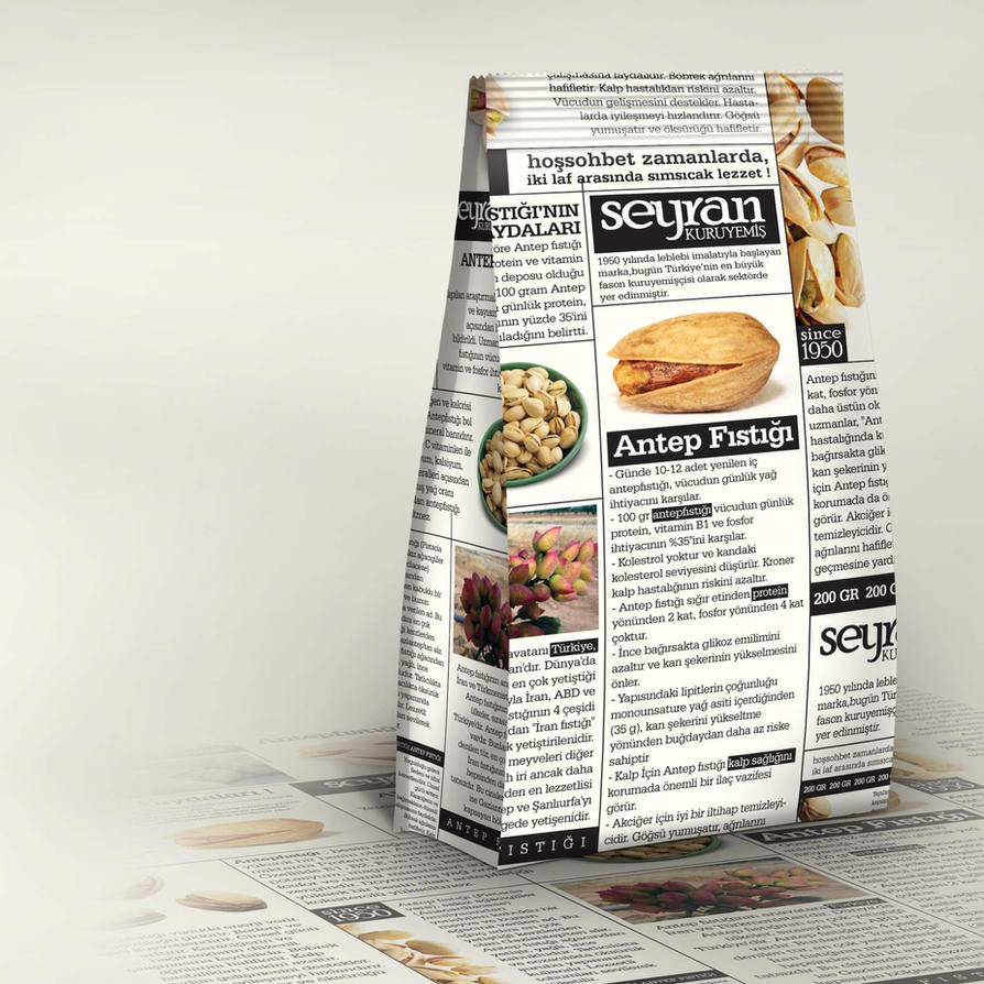 Seyran Packaging by grafiket