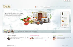 Olivos Website by grafiket