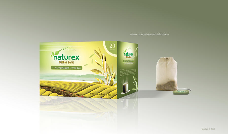 naturex tea packaging design by grafiket on deviantart