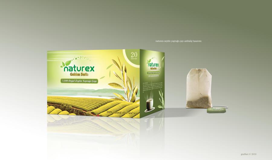 Naturex Tea Packaging Design