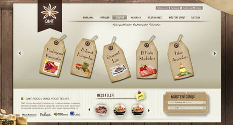 Gmt Food Products Page by grafiket