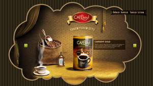 cafekeyf Web Concept by grafiket