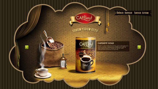 cafekeyf Web Concept