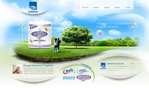 Europap Website Concept