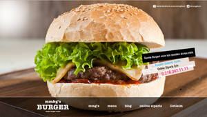 Mmg's Burger Web Concept