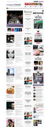 Magazinizmir News Website by grafiket