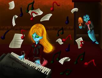 COLLAB: Shivers's Musical Attraction by Mimikyu-SeeeeeeMeee