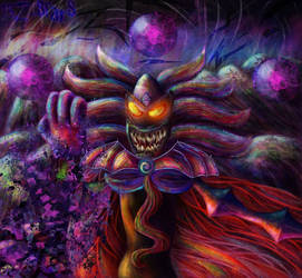 GIFT: You Vill Fall Under the Dark Stone! SCREEEK! by Mimikyu-SeeeeeeMeee