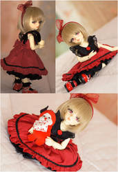 BJD: Black and Red by EienGTC