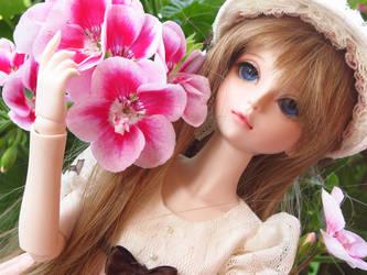 BJD: Lady of flower by EienGTC