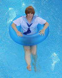 Kill la Kill: floating Mako by EienGTC