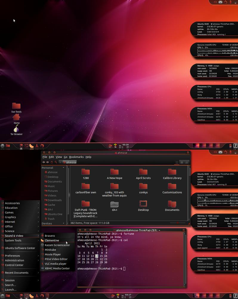 April Ubuntu, 103 Suite Love by Rasa13