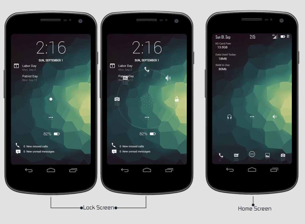 Minimal Crump-  Galaxy Nexus by Rasa13