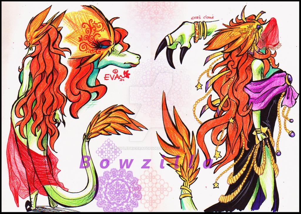 Eva Doodles 1 by Bowzilla