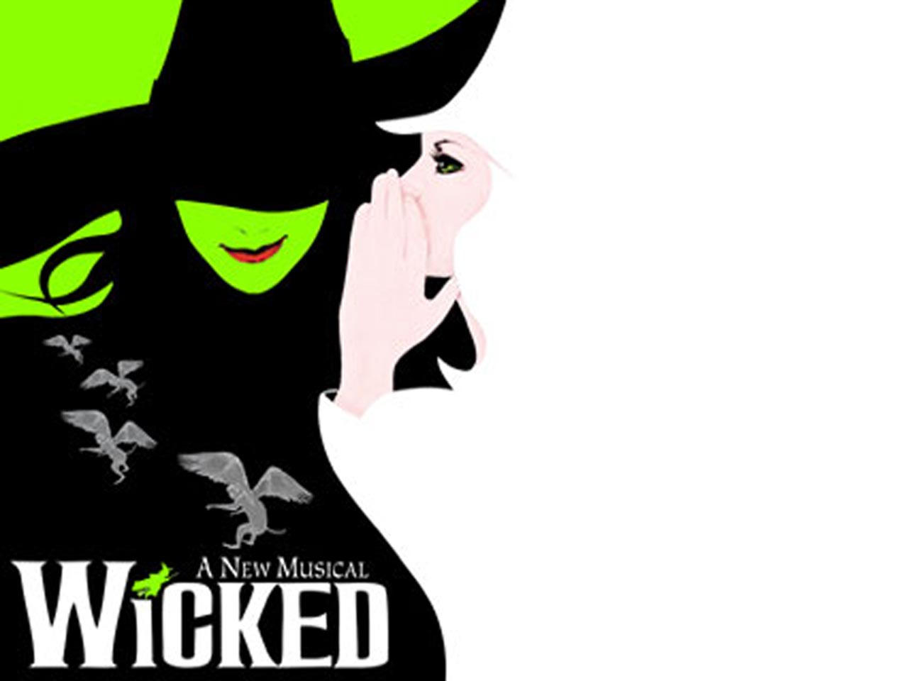 wicked playbill viewing gallery