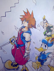 Kingdom Hearts by Malluga