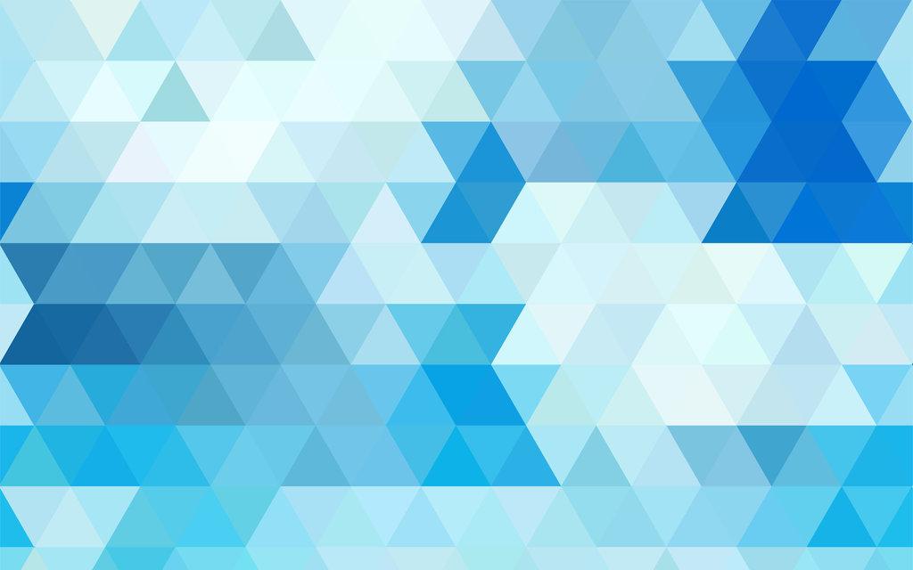 Blue Geometric Wallpaper By Supergecko99