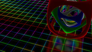 Neon Grid with Nested object.