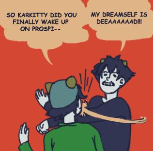 MY DREAMSELF IS DEEAAAAAAD by ElectricCamel