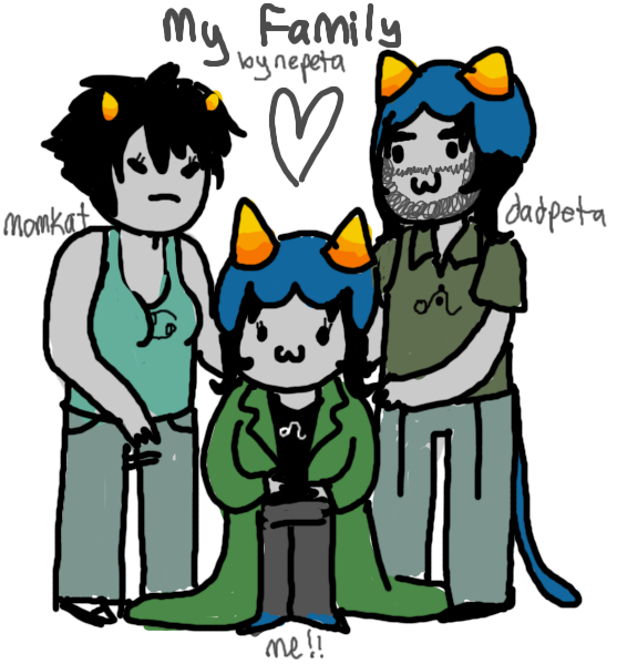 My Family By Nepeta Leijon By ElectricCamel On DeviantArt