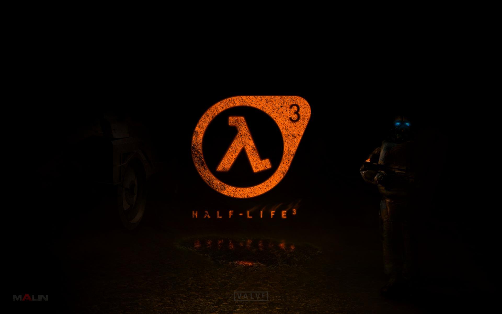 Half-Life 3 Logo with Combine 16:10 wallpaper