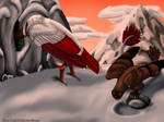 Snow Mountain Search by RavenPride222