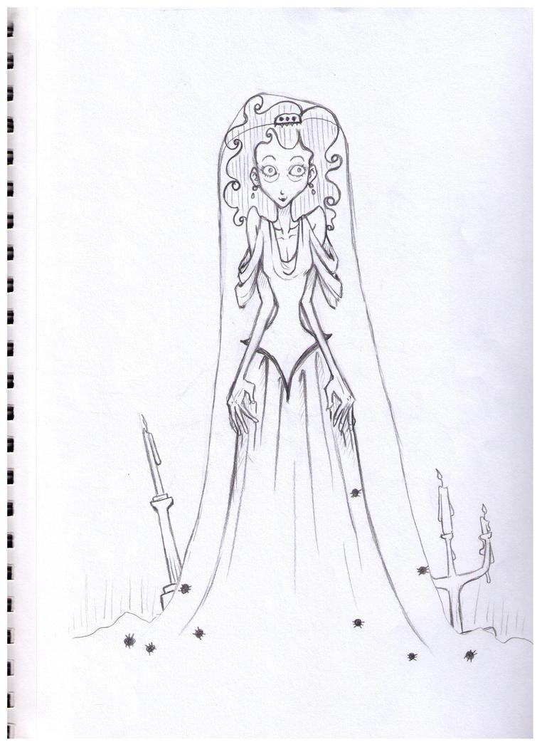 Miss Havisham no. 3 by bookperson415 on deviantART