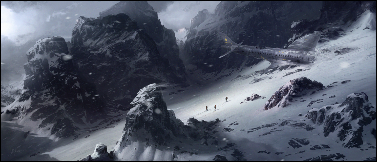 Fighting The Mountain by memod