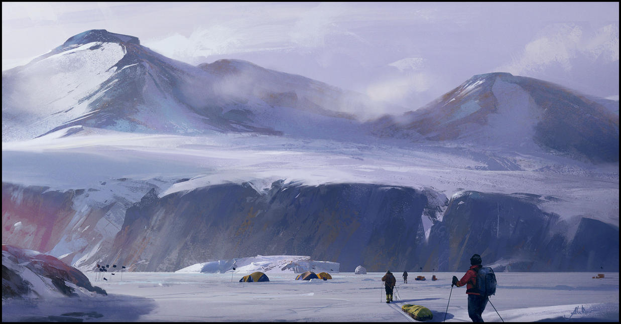 Returning To Camp by memod