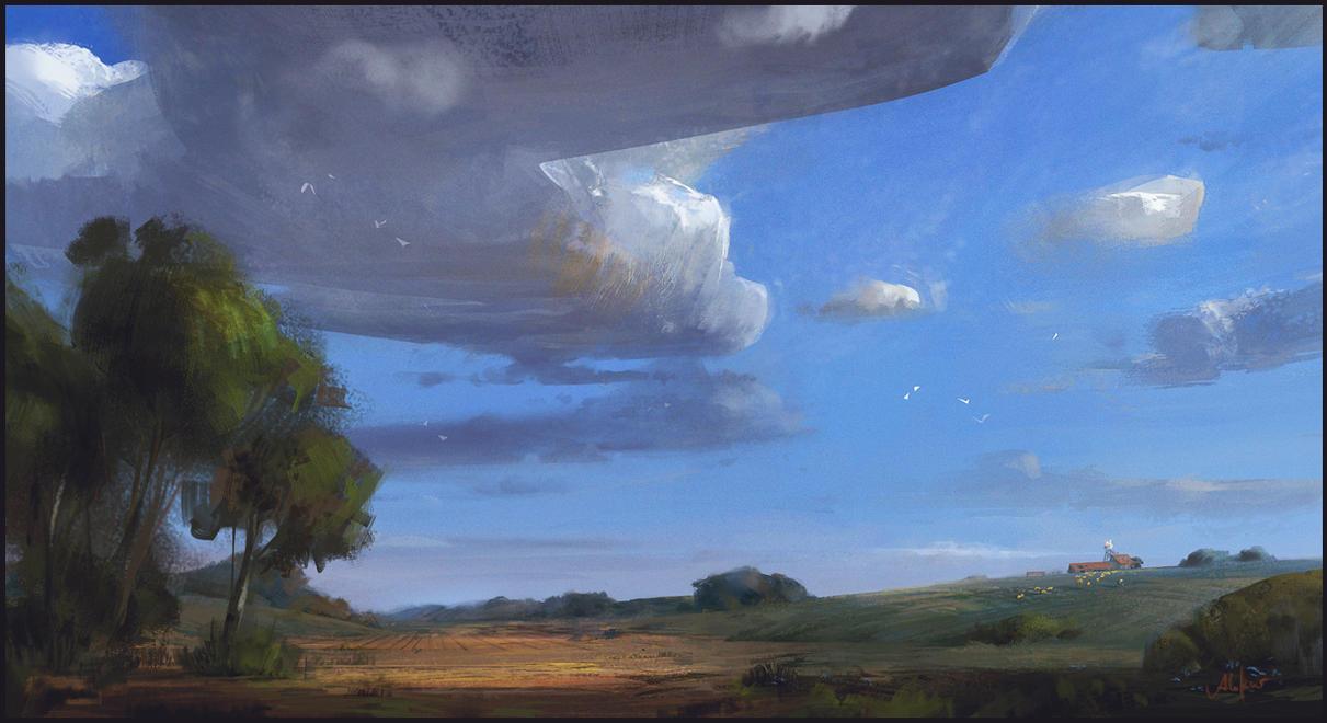 Summer Clouds by memod