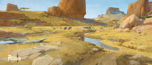 Albion Online - Steppe Biome by memod
