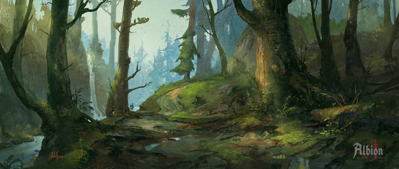 Albion Online - Forest Biome by memod